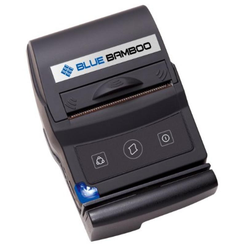 P25-m Blue Bamboo Receipt Printer with Magnetic Stripe Re...