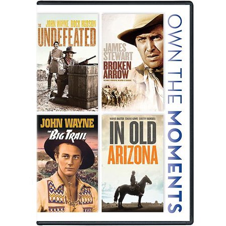 - The Undefeated / Broken Arrow / The Big Trail / In Old Arizona