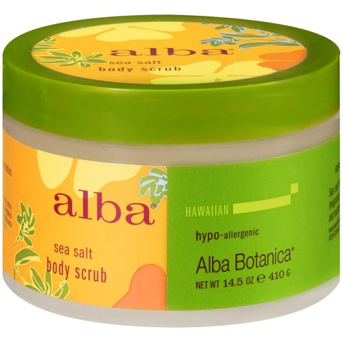 Alba Sea Salt Body Scrub, 14.5 oz