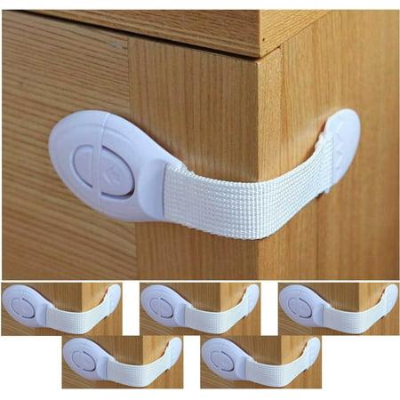 Weyli Baby Safety Lock Strap For Furniture Cabinet Door Refrigerator