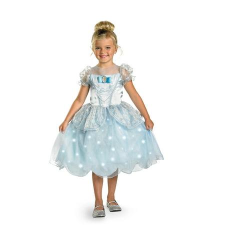 Disney Child Cinderella Light-Up Costume Disguise 38351 (Disney Cinderella Wedding Dress Costume)