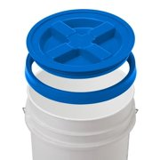 6 Gallon API White Bucket with Gamma Seal Lid (Blue)
