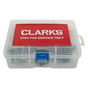 Clarks Service Tray Brake Shoes, Shimano XTR, XT, SLX, M985, M785, M666, S700 2011+, Organic
