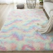 Patgoal Ultra Soft Area Rugs Fluffy Carpets for Bedroom Kids Girls Boys Baby Living Room Shaggy Floor Nursery Rug Home Decor Mats