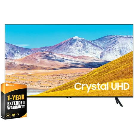"Samsung UN65TU8000FXZA 65 inch 4K Ultra HD Smart LED TV 2020 Model Bundle with 1 Year Extended Warranty (UN65TU8000 65TU8000 65 Inch TV 65"" TV)"