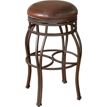 Capri Bkless Delaware 30 Inch Swivel Bar Stool