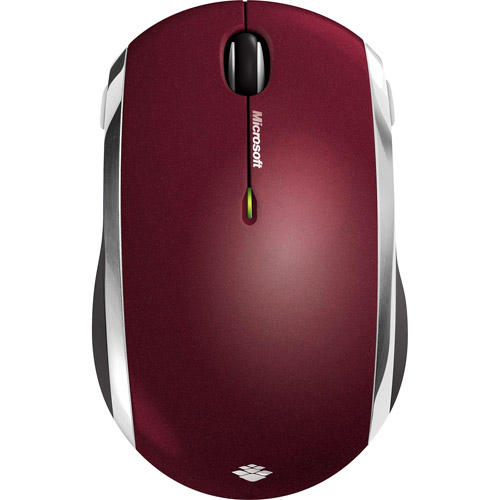 Wireless Mobile Mouse 6000 BlueTrack, Red