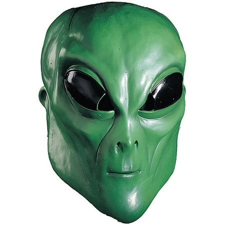 Alien Green Mask Adult Halloween - Green Face Mask Halloween