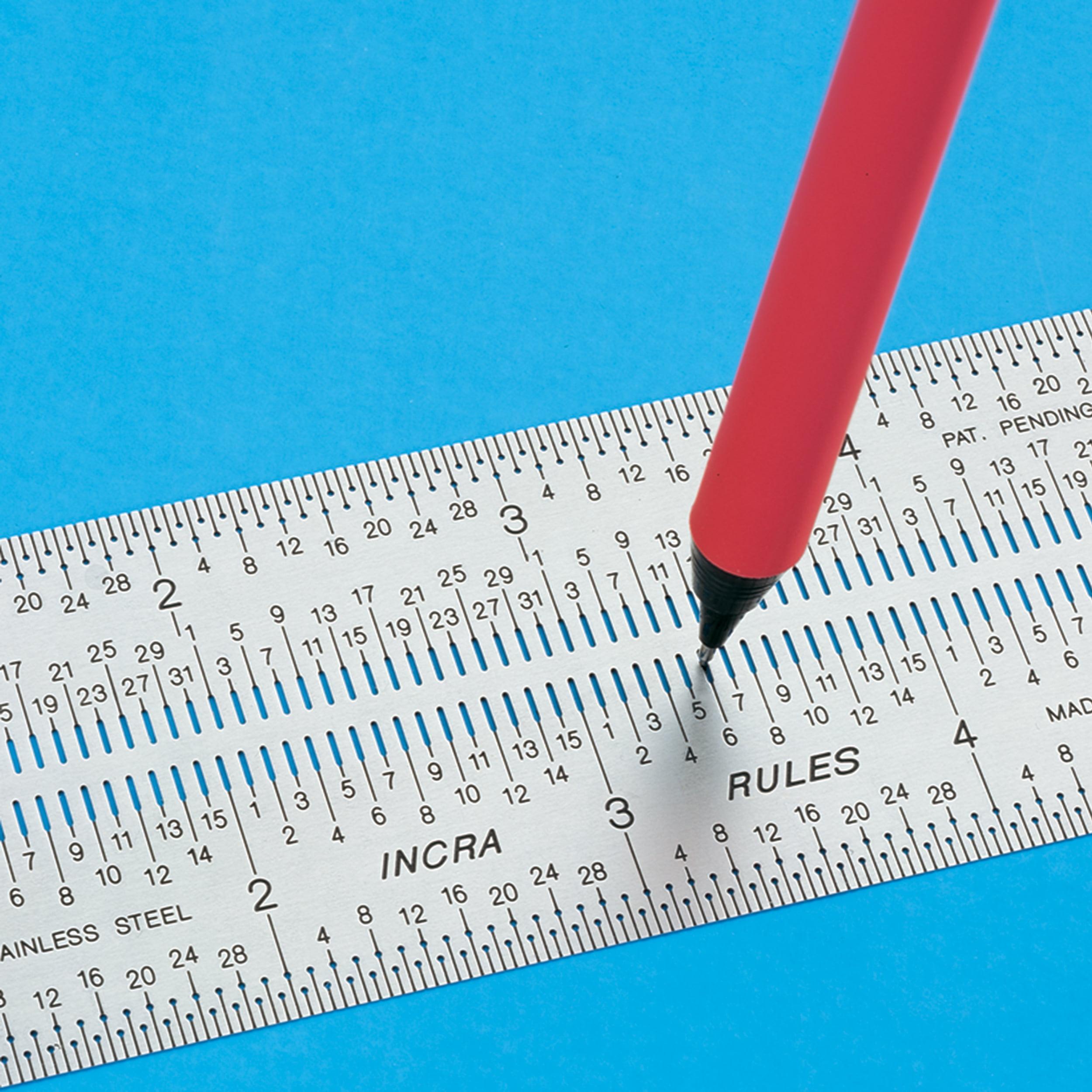 "INCRA Precision Marking Rule, 6"""