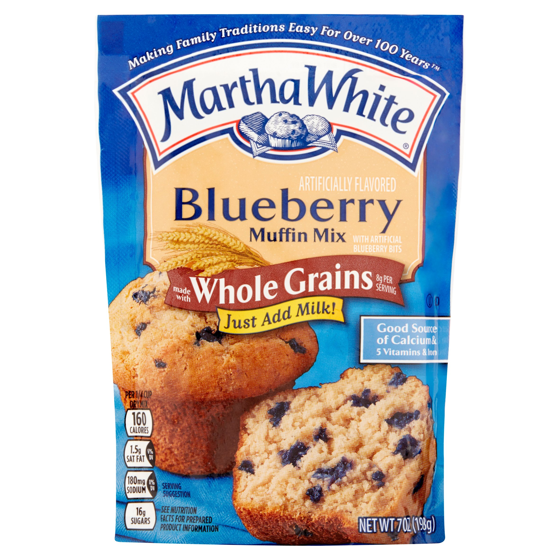 Martha White Blueberry Muffin Mix, 7 oz