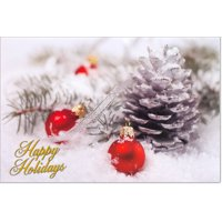 Happy Holidays Christmas Cards - 16 Greeting Card Sets