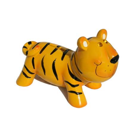 Jewel Eye Tiger Coin Bank (Clemson Tigers Piggy Bank)