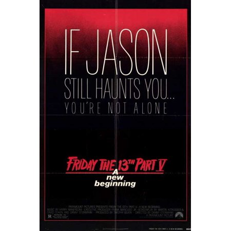Friday the 13th Part 5 New Beginning - movie POSTER (Style A) (11