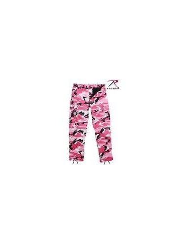 Ultra Force Pink Camouflage B.D.U. Pants by Rothco