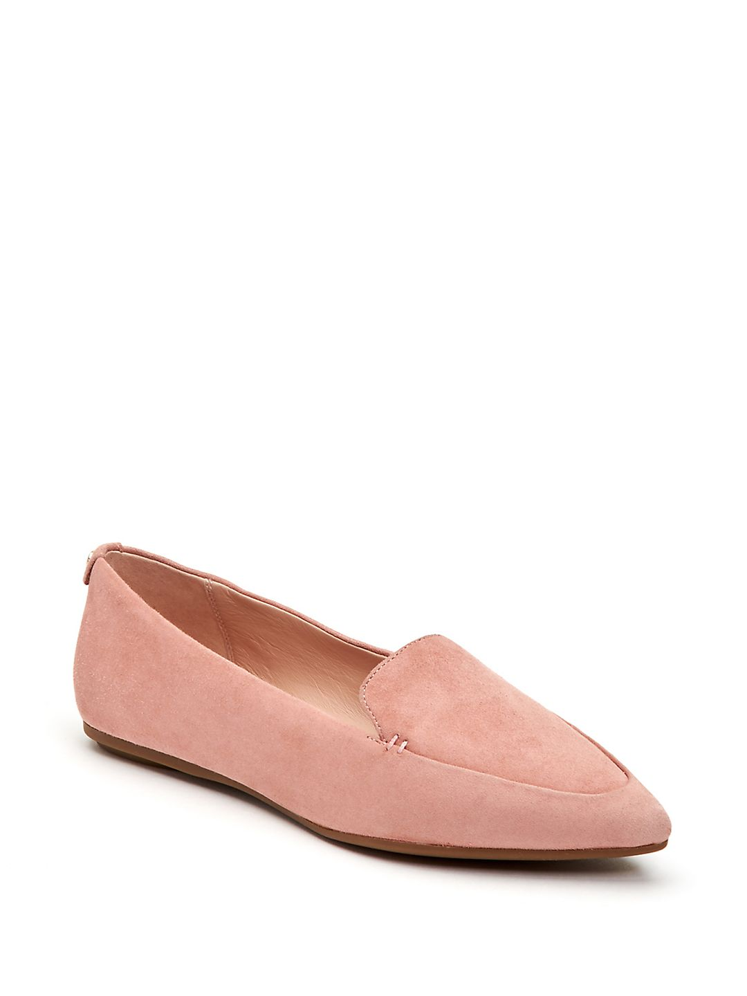 Faye Water-Resistant Pointy Toe Loafers