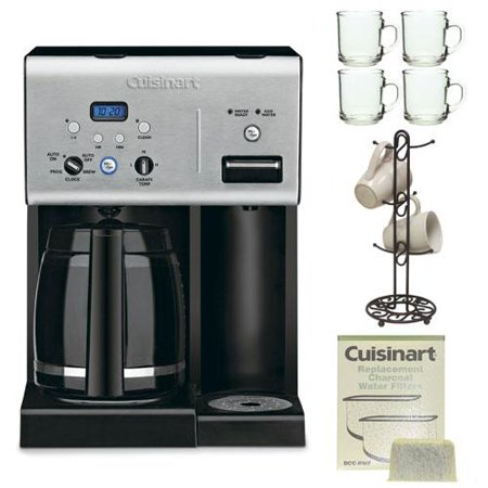 Cuisinart CHW-12 12-cup Programmable Coffee Maker w/ Water Filters Replacement 2 - Walmart.com