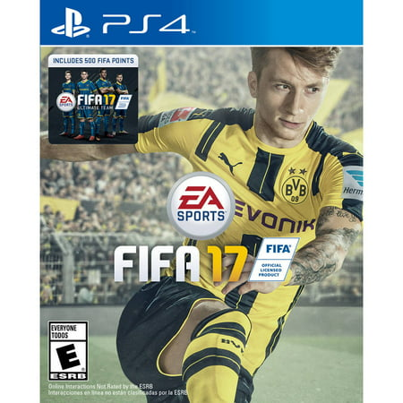 Fifa 17  Ps4  With Bonus 500 Fifa Ultimate Team Points