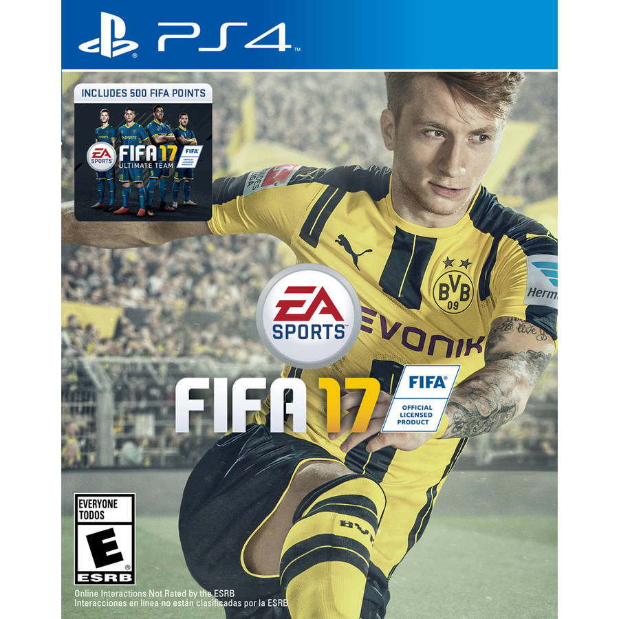 FIFA 17 (PS4) with Bonus 500 FIFA Ultimate Team Points