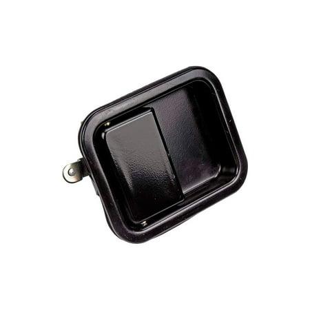 Tj Wrangler Black Half Door - Dorman 79399 Exterior Door Handle For Jeep Wrangler (TJ), Smooth Black, Metal