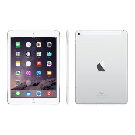 Refurbished Apple iPad Air 1st Gen AT&T Silver 16GB (ME997LL/A)(2013)