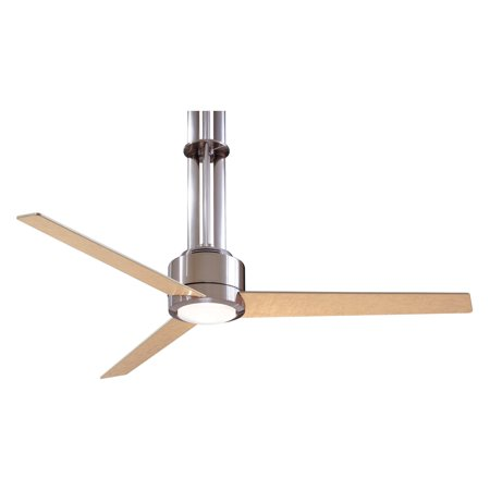 Minka Aire F531-L-BN Flyte 56 in. Indoor Ceiling Fan - Brushed