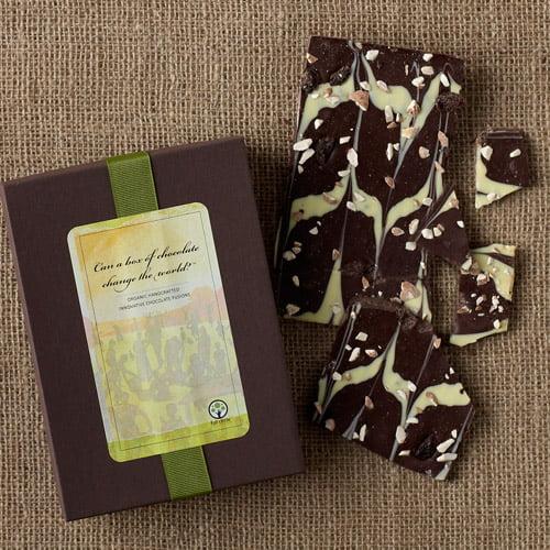 Full Circle Exchange Organic Extreme Dark Chocolate Bark with Cherries 4 oz , 2-Pack