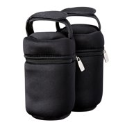 Tommee Tippee Closer to Nature Insulated Bottle Bags, 2-Count