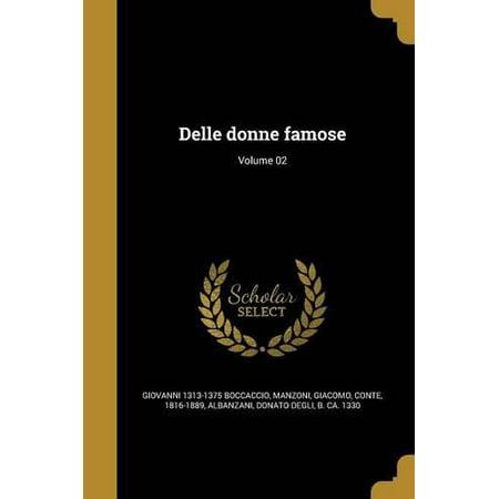 Delle Donne Famose  Volume 02