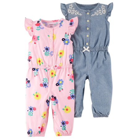 83e2377c2 Carters Baby Girl One Piece Rompers