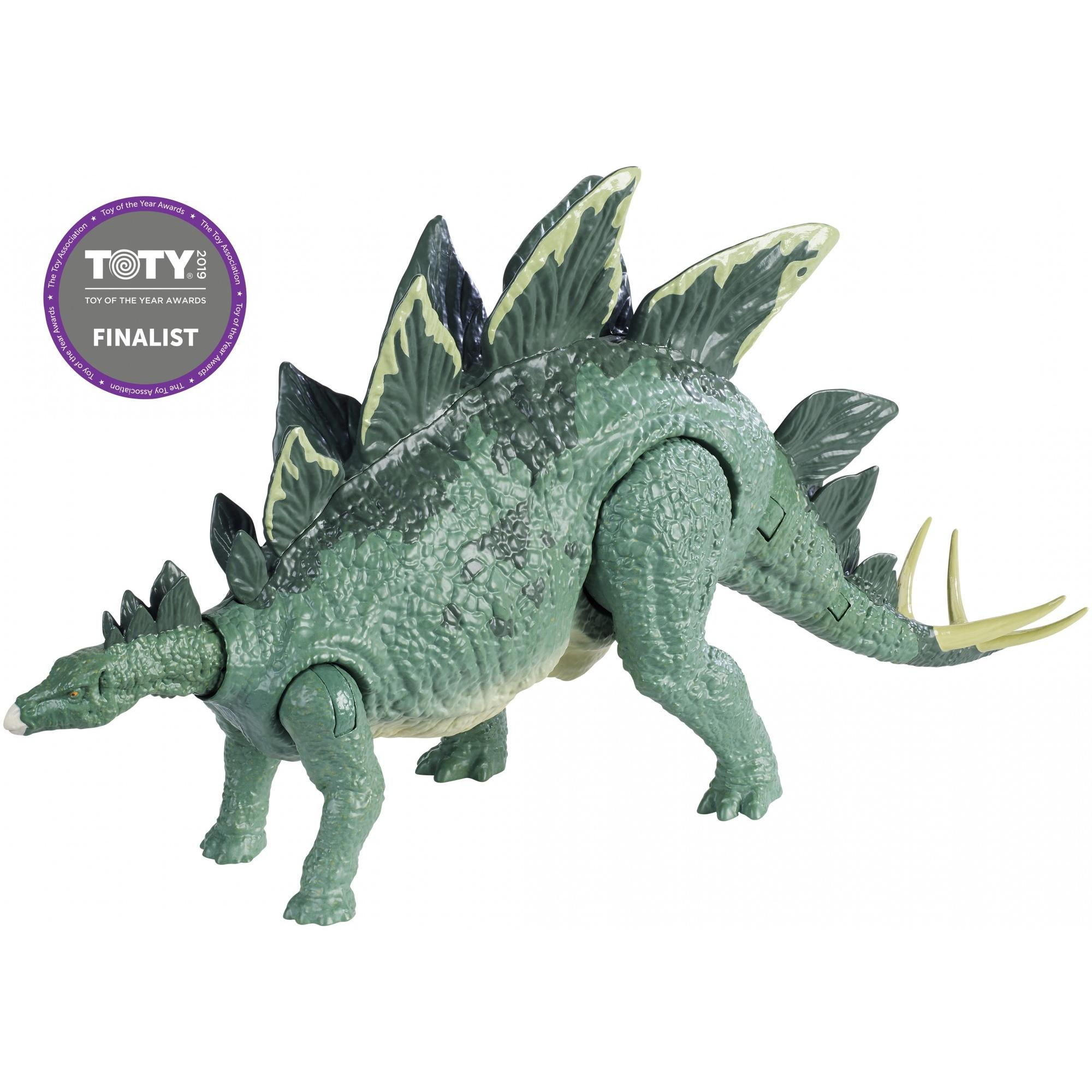 Jurassic World Action Attack Stegosaurus Dinosaur for Ages 4Y+