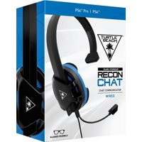 Turtle Beach Recon Chat Headset for PS4, Xbox One, PC, Mobile (Black)