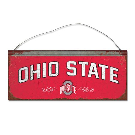 Ohio State University Small Tin Sign - Ohio State University Halloween Party
