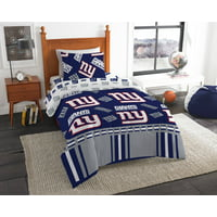 NFL New York Giants Bed In Bag Set