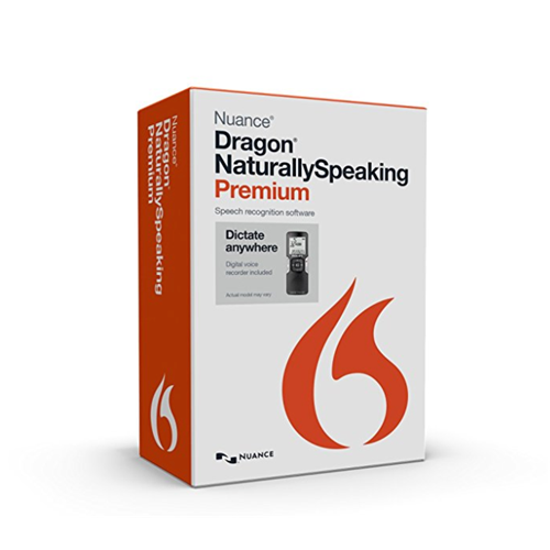 Dragon NaturallySpeaking Premium 13 with Digital Recorder (Mobile), English