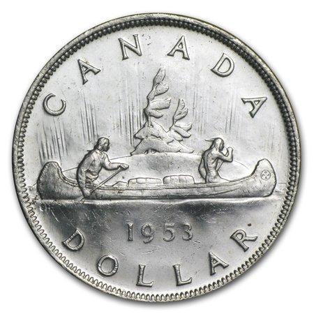 1953 Canada Silver Dollar AU