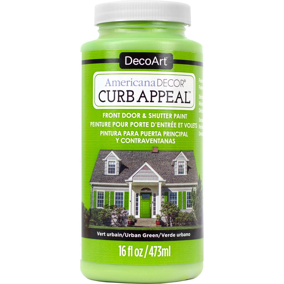 Americana Curb Appeal Paint 16oz-Urban Green