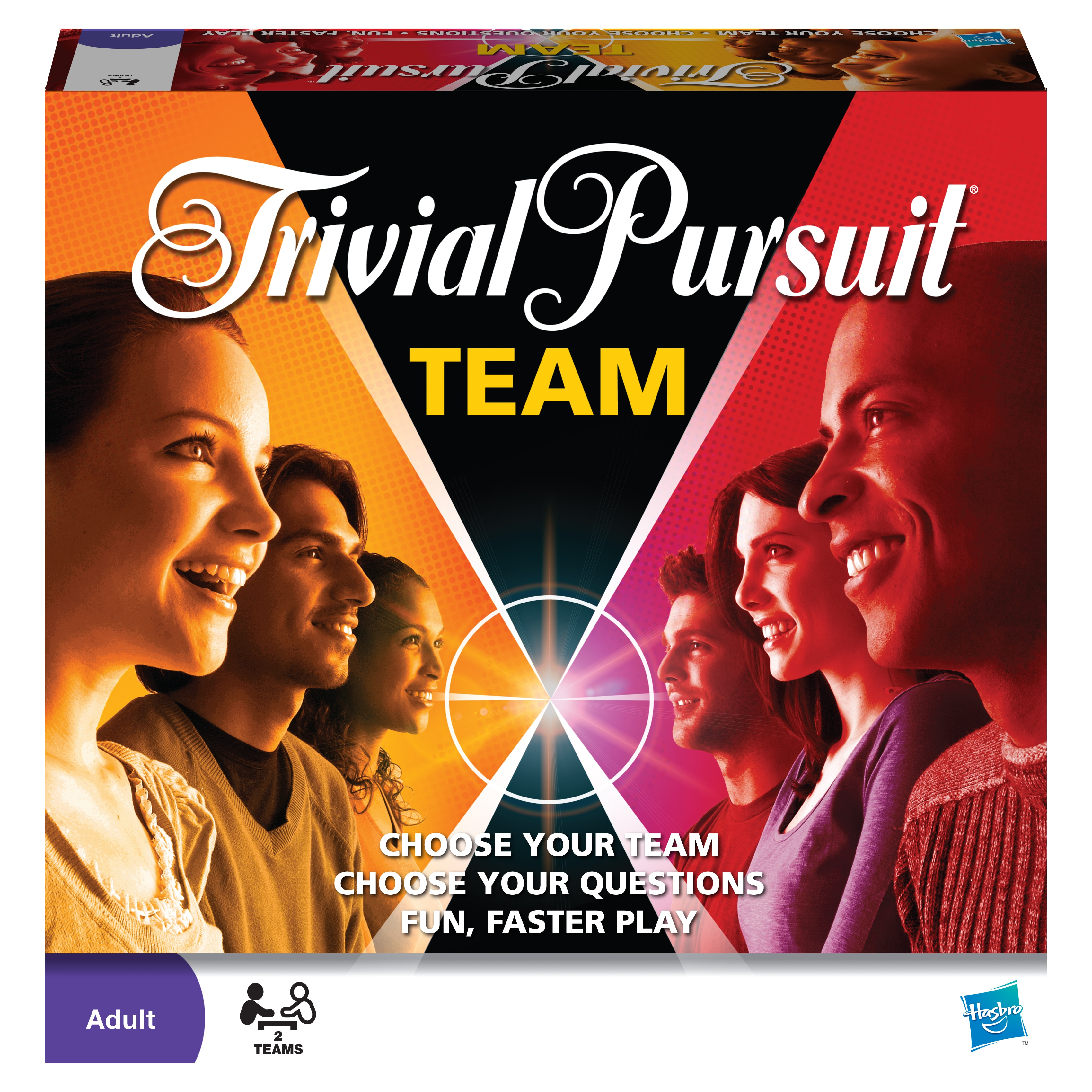 Hasbro  Team Trivial Pursuit Game