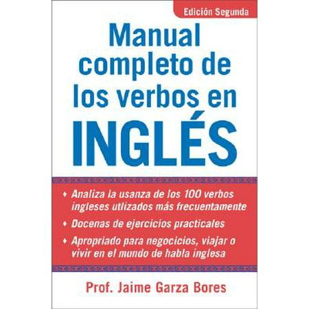Manual Completo de los Verbos en Ingles