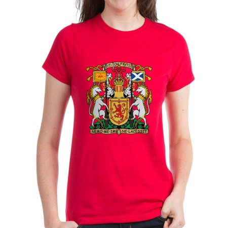 92d38ff8 CafePress - CafePress - Scotland Coat Of Arms T Shirt - Women's Dark T-Shirt  - Walmart.com