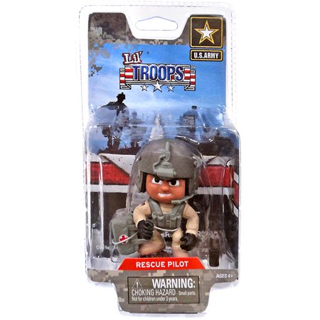 - Lil' Troops U.S. Army Rescue Pilot Action Figure