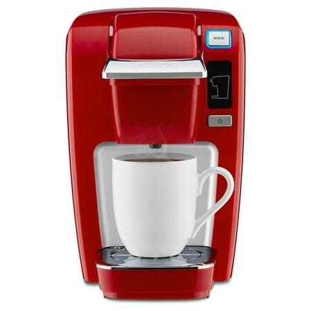 Keurig K15 Single Serve Compact K-Cup Pod Coffee Maker Chili (Keurig 2-0 Won T Recognize K Cups)