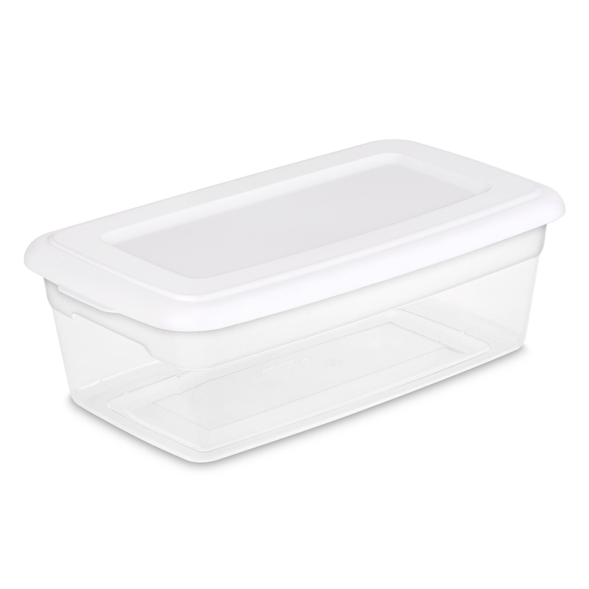 Sterilite 6 Qt./5.7 L Storage Box, White