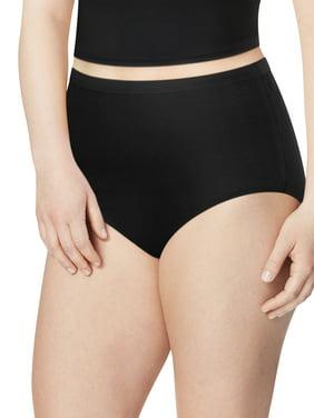 Just My Size Women's Cotton Brief Underwear, 6-Pack