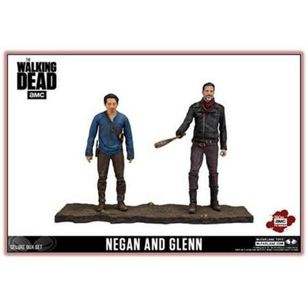 Mcf The Walking Dead Deluxe Box Set Negan And Glenn  Tmp International Inc