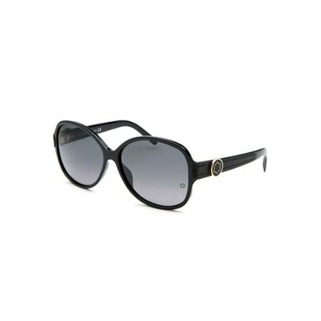 Mont Blanc Sunglasses Women Round - Black