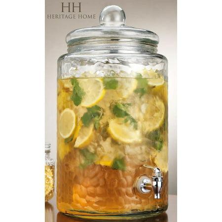 Home Essentials and Beyond Round Beverage Dispenser