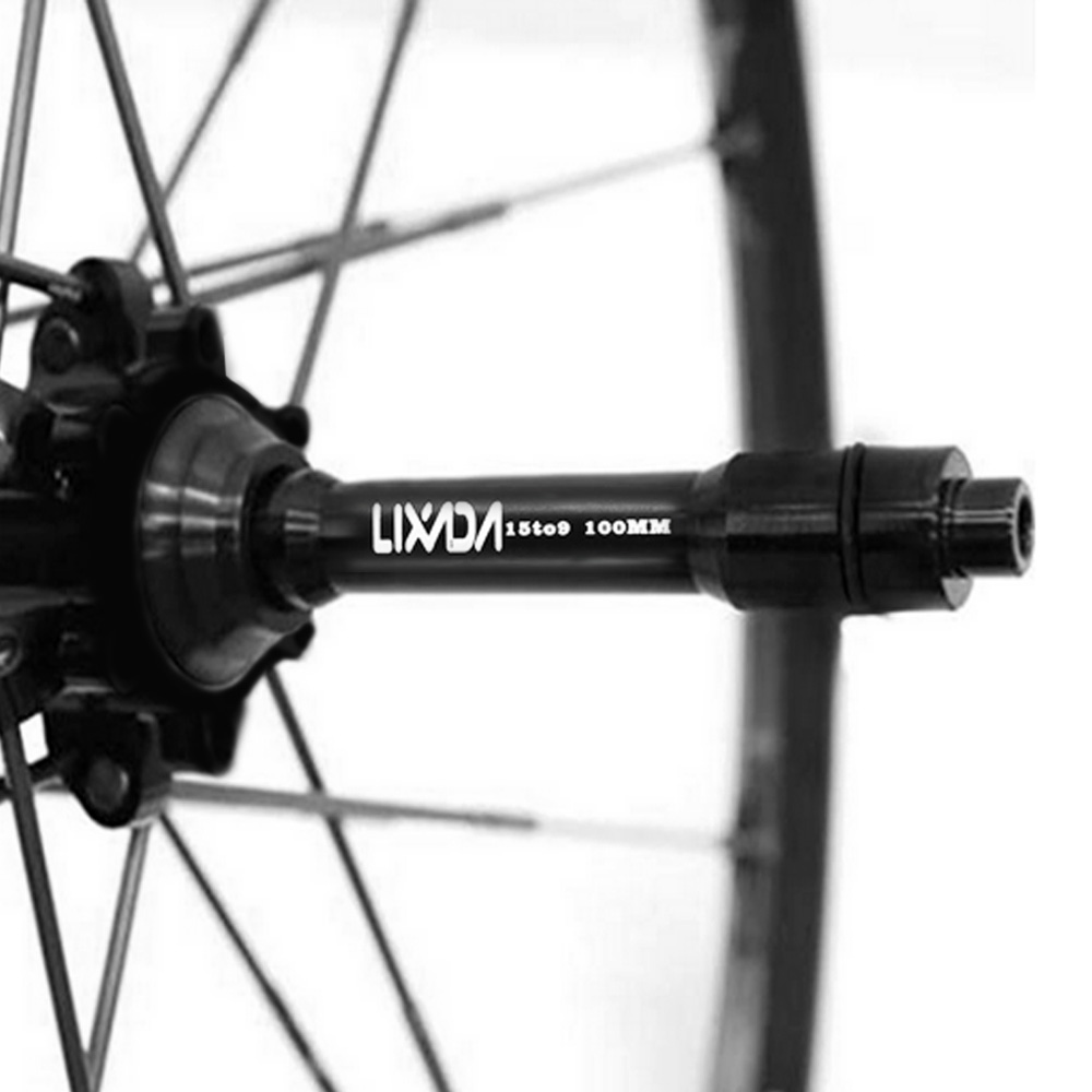 Details about  /Bicycle Front Hub Hub Axis Conversion 12mm To 9mm Axis Seat Adapter 15mm to 9mm