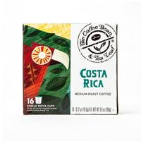 The Coffee Bean & Tea Leaf Costa Rica Medium Roast Single Serve Coffee for Keurig Brewers, 1 Box of 16 (16 Total Pods)