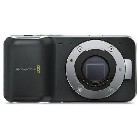 Blackmagic Pocket Cinema Camera with Micro Four Thirds Lens