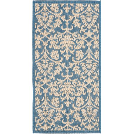 Resorts Indoor/Outdoor Area Rug, Blue/Natural - Walmart.com - photo#22